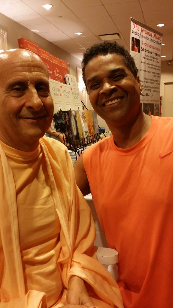 Dr GuyLive with Swami Radhanath