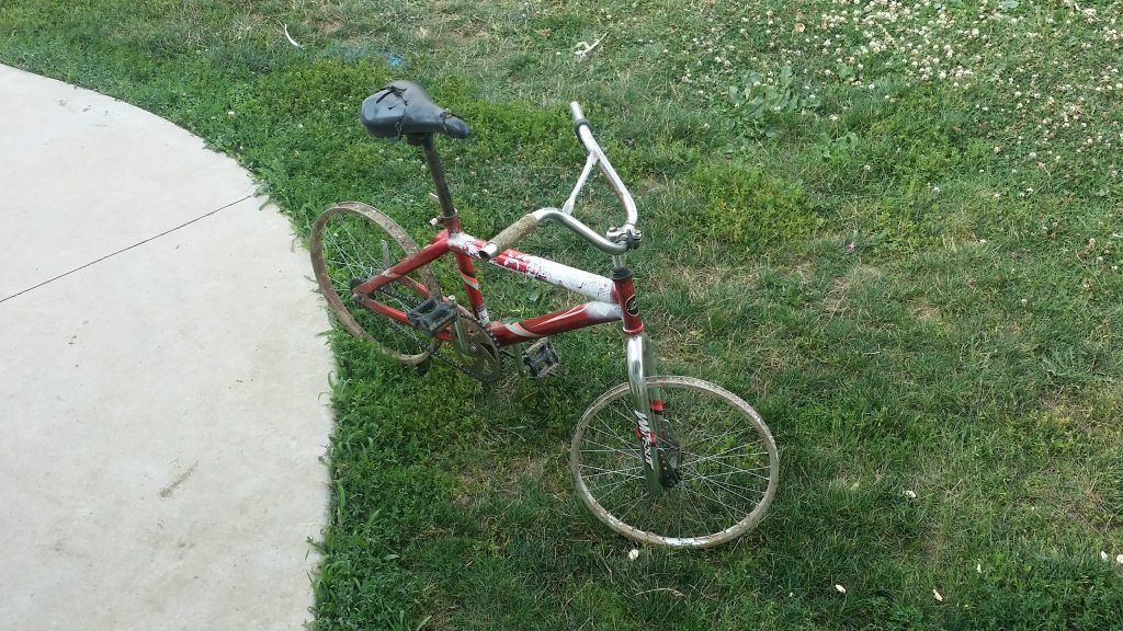 Little Amish Boy's Bike