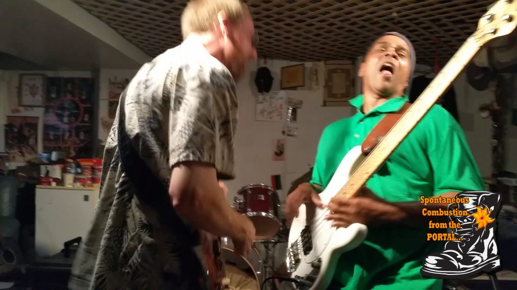 black boot band action jam pic